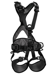 Black Petzl C71AFN Avao Bod Fast Military Harness