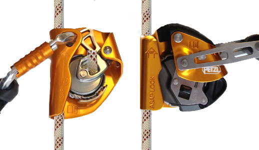 Lock Pick Tools >> Comparison of the new Petzl ASAP Back-up Devices