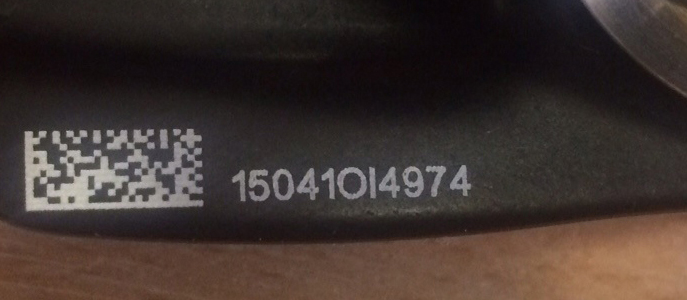 13 Digit Petzl Serial Number