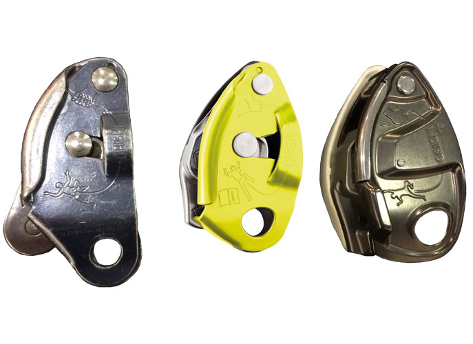 Old versus New Petzl Grigri