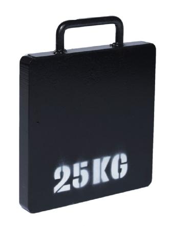 SAS A-Frame Deadweight Anchor 25 kg weight plate
