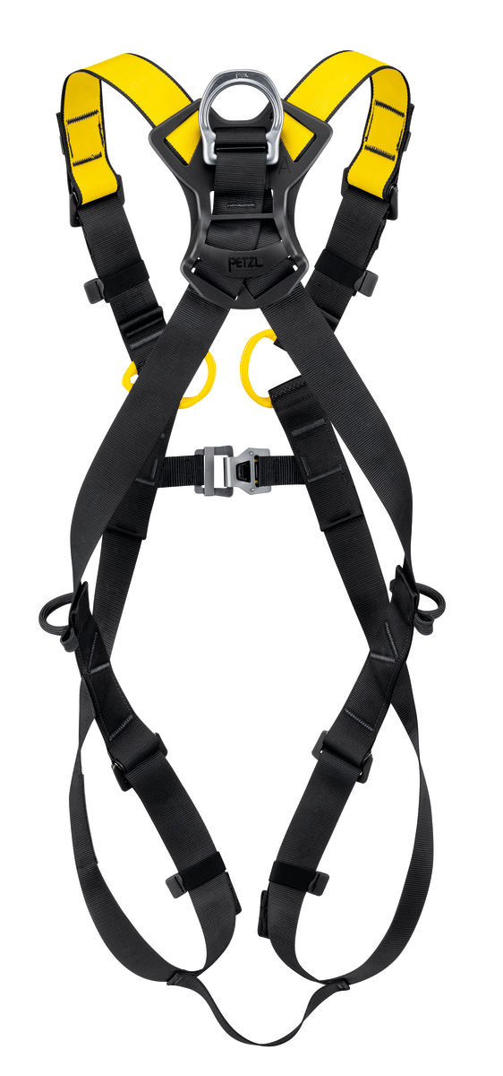 Petzl Newton Fall Arrest harness rear view