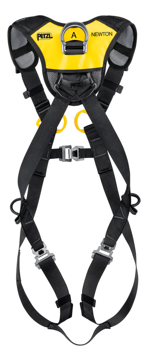 Petzl Newton Fast European version Fall Arrest harness rear view
