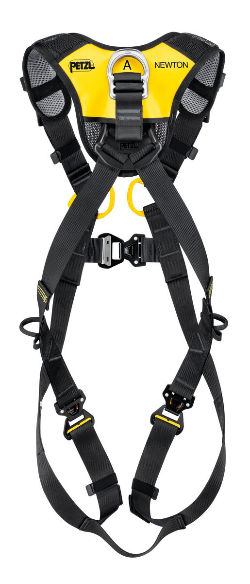 Petzl Newton Fast International version Fall Arrest harness rear view