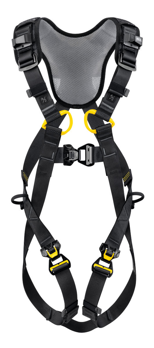 Petzl Newton Fast International version Fall Arrest harness front view