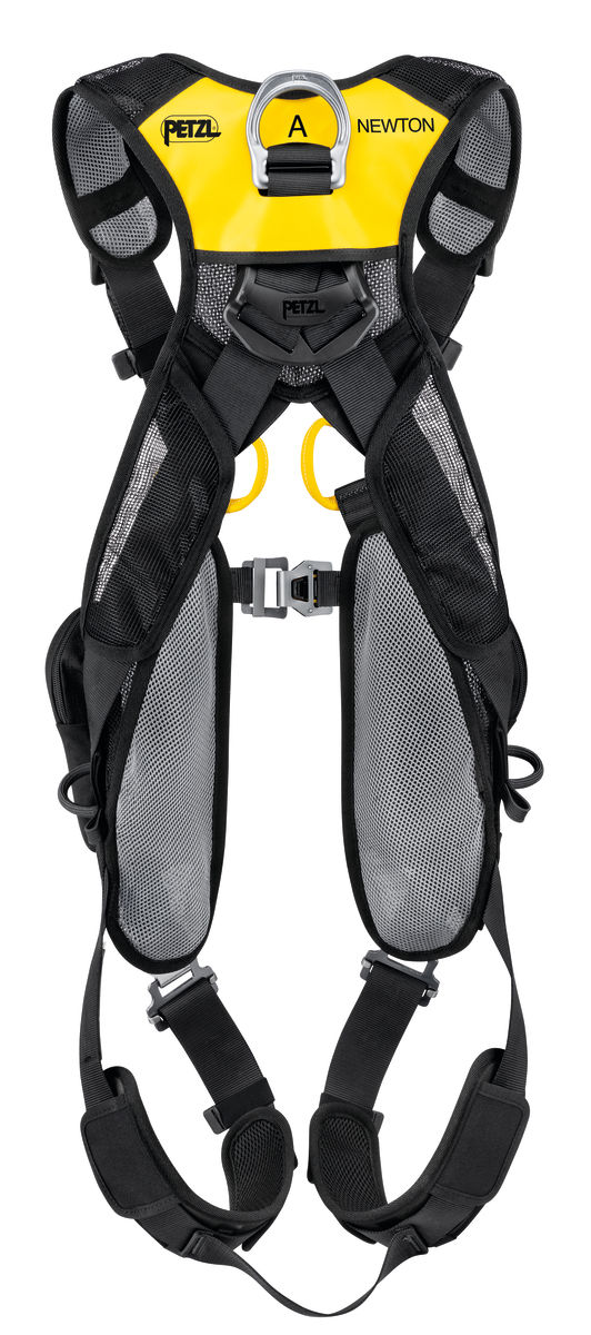 Petzl Newton Easyfit European version Fall Arrest harness rear view