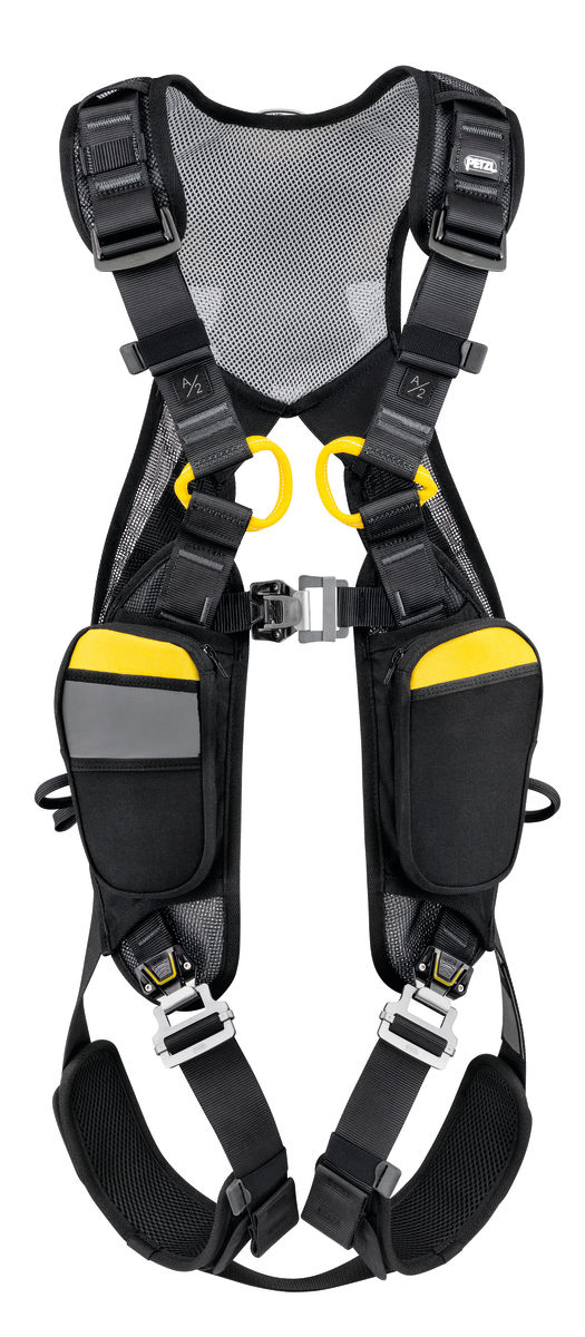 Petzl Newton Easyfit European version Fall Arrest harness front view