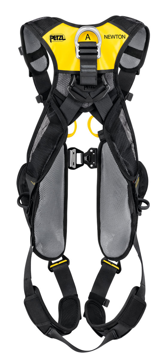 Petzl Newton Easyfit International version Fall Arrest harness rear view
