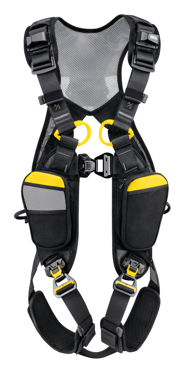 Petzl Newton Easyfit International version all Arrest harness front view
