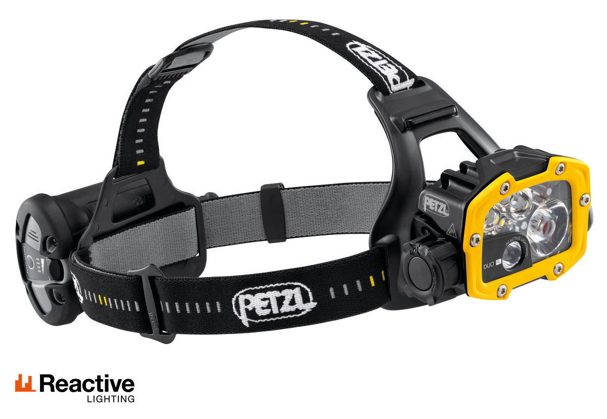 Petzl Duo RL head torch