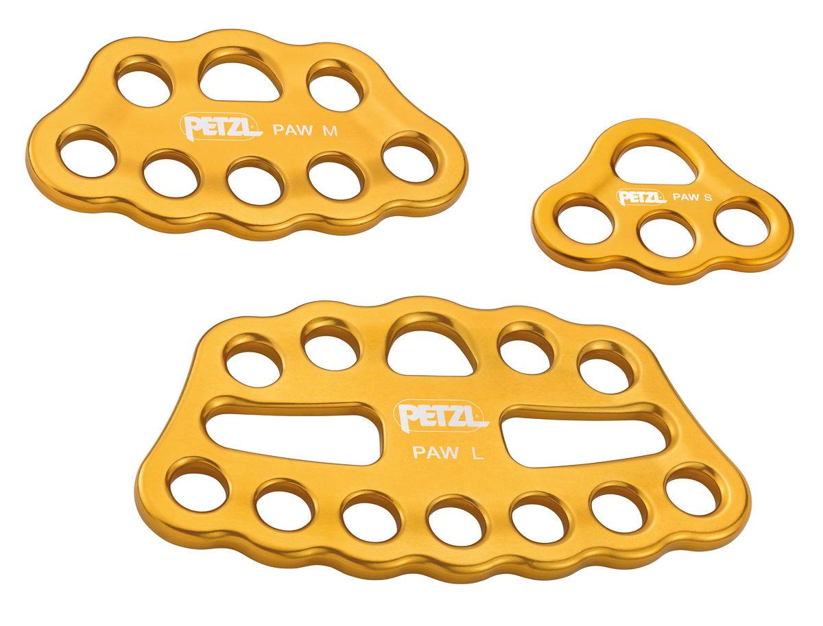 Petzl Paw rigging plate range