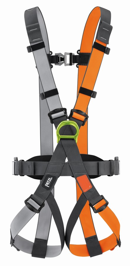 Petzl Swan Easyfit Steel harness - front view