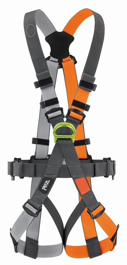 Petzl Swan Free-fall steel harness - front view