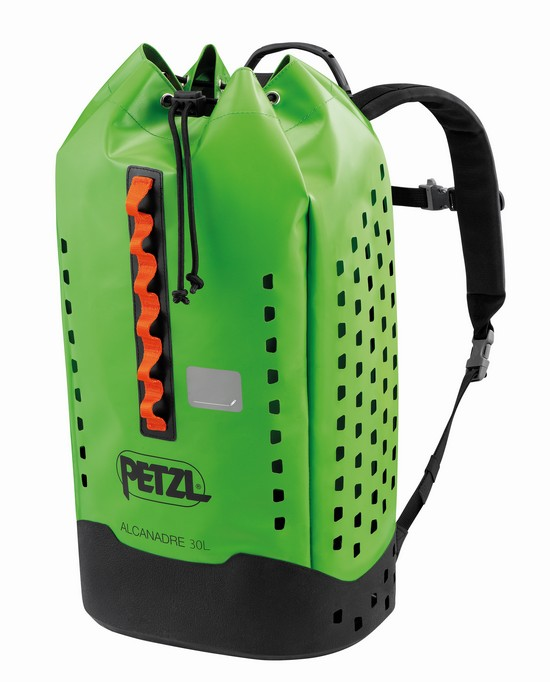 New 2021 Petzl Alcanadre 30 litre bag - front view