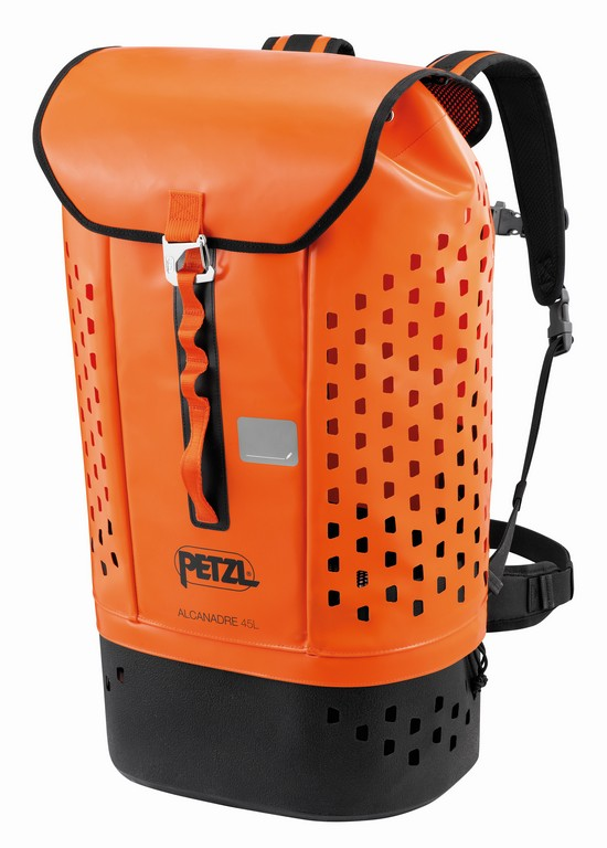 New 2021 Petzl Alcanadre 45 litre bag - front view