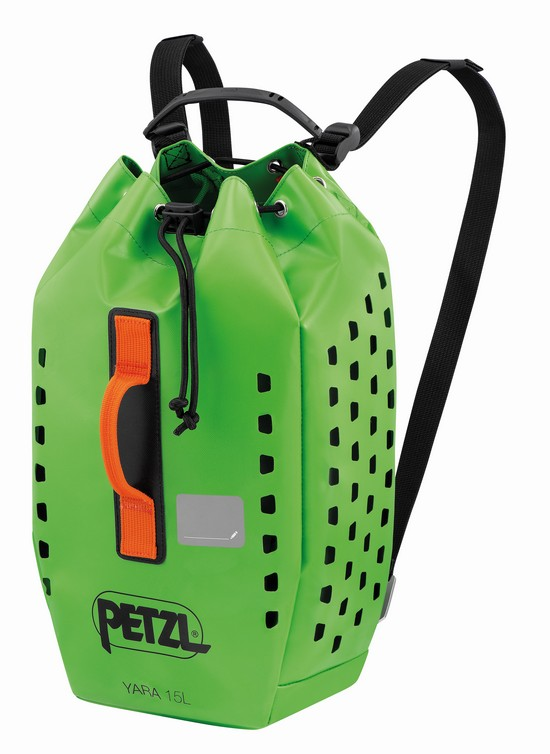 New 2021 Petzl Yara 15 litre bag - front view