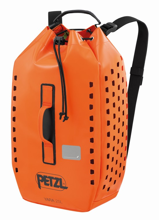 New 2021 Petzl Yara 25 litre bag - front view